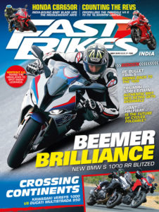 fast bikes india issue may 2019-cover