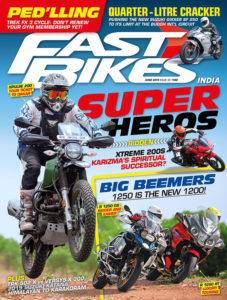 fast bikes india issue june 2019 cover