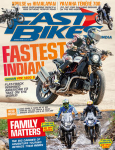 August 2019 issue of Fast Bikes India magazine – On stands now!